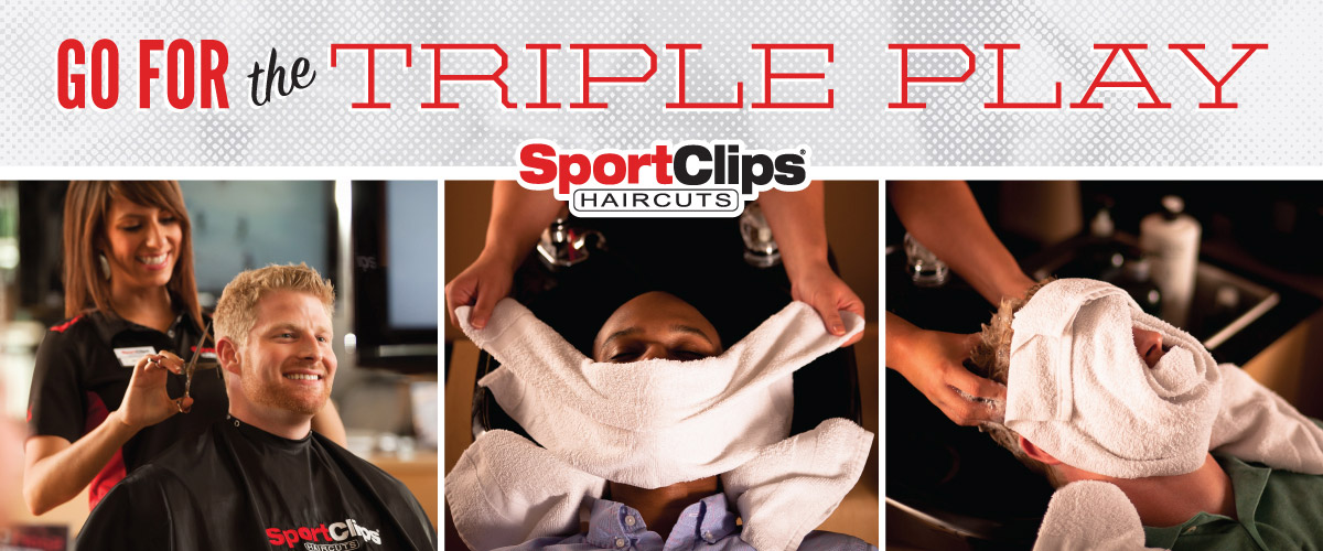 The Sport Clips Haircuts of Scottsdale - Fountain Plaza  Triple Play